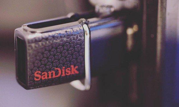 Kokeiltua: 64GB SanDisk Ultra Dual USB Drive 3.0