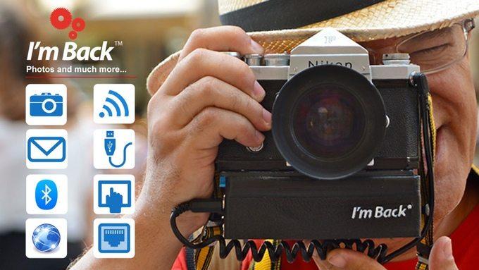 I'm Back lupaa filmikameralla digikuvia Raspberry Pi:n avulla